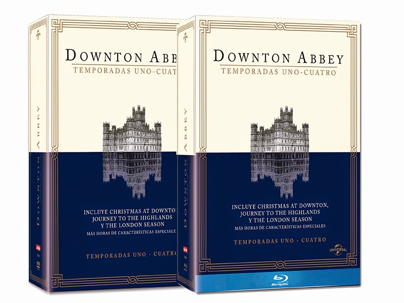 Evento de lanzamiento de la 4ª temporada de 'Downton Abbey' en DVD y Blu-ray