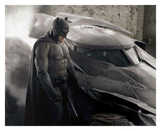 Primera foto a color de Batman en 'Batman v Superman: Dawn of justice'