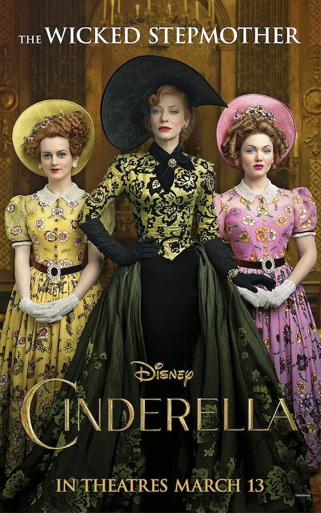 Nuevo póster de 'Cenicienta' con Cate Blanchett como la malvada madrastra