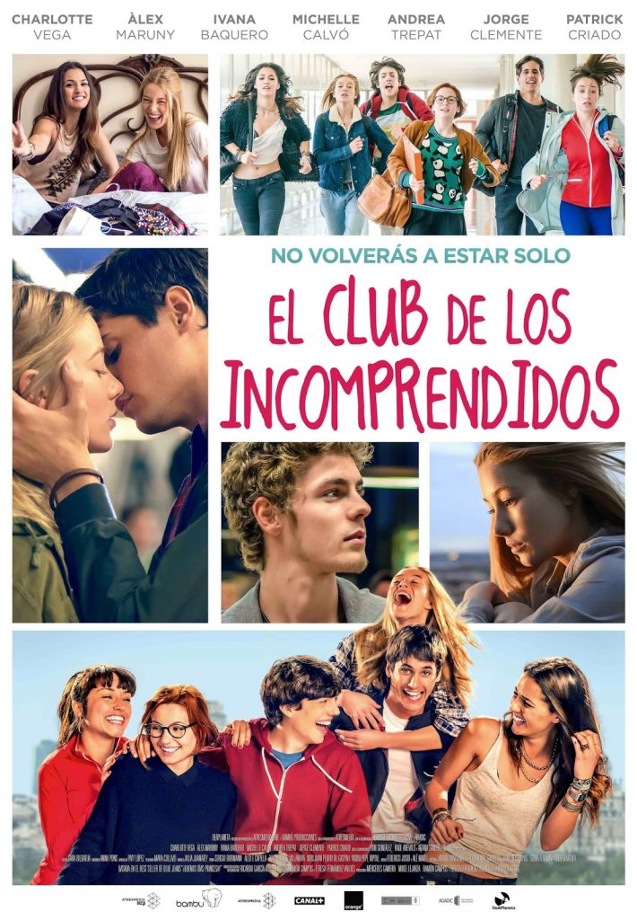 Póster final de 'El club de los incomprendidos'