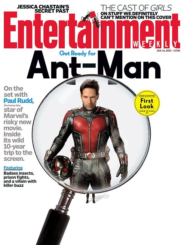 Primer póster oficial de 'Ant-Man' (Actualizado)