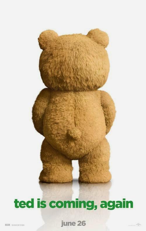 El mismo humor de Seth MacFarlane en el póster oficial de 'Ted 2'