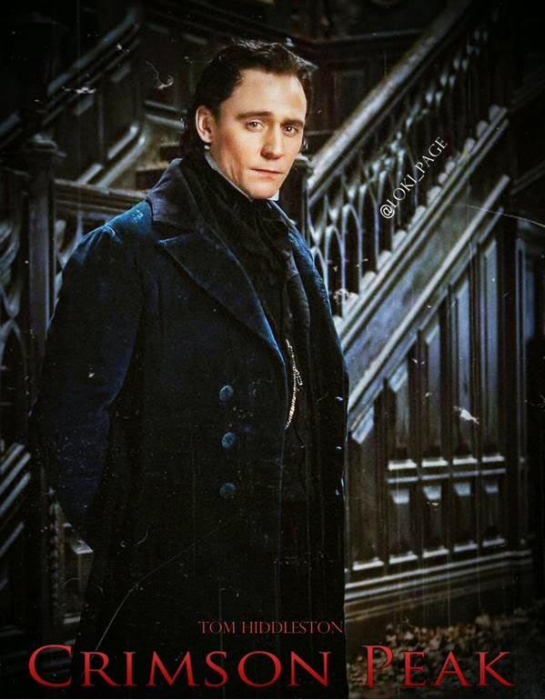 Primeras imagenes de Tom Hiddleston en 'Crimson peak', de Guillermo Del Toro