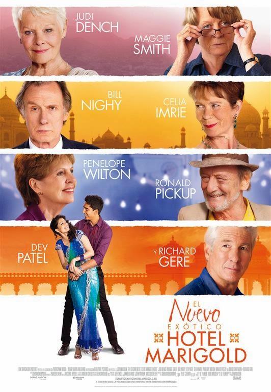 Tráiler y póster español de 'El Nuevo Exótico Hotel Marigold'