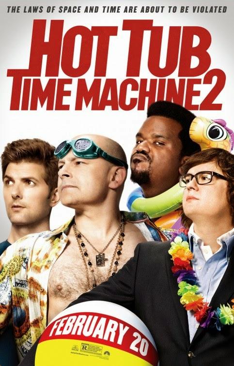 Nuevos pósters de 'Hot tub time machine 2', secuela de 'Jacuzzi al pasado'