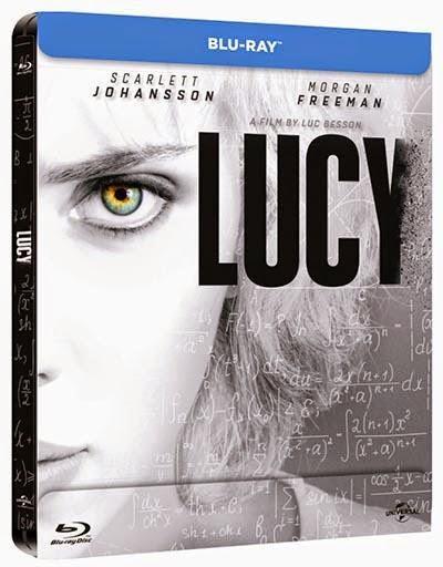 A la venta 'Lucy' en DVD, Blu-ray y edición metálica