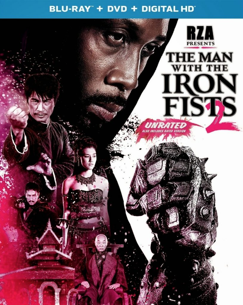 Póster y tráiler de 'The man with the iron fists 2'