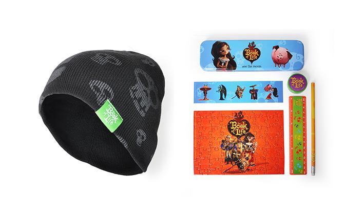 Concurso 'El Libro de la Vida: Tenemos packs de merchandising para vosotros