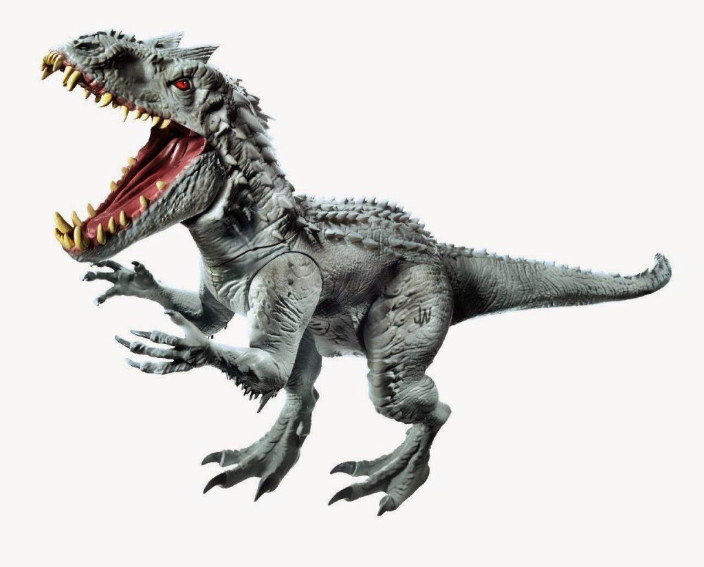 Revelado el aspecto del Indominus Rex de 'Jurassic World' gracias a su muñeco