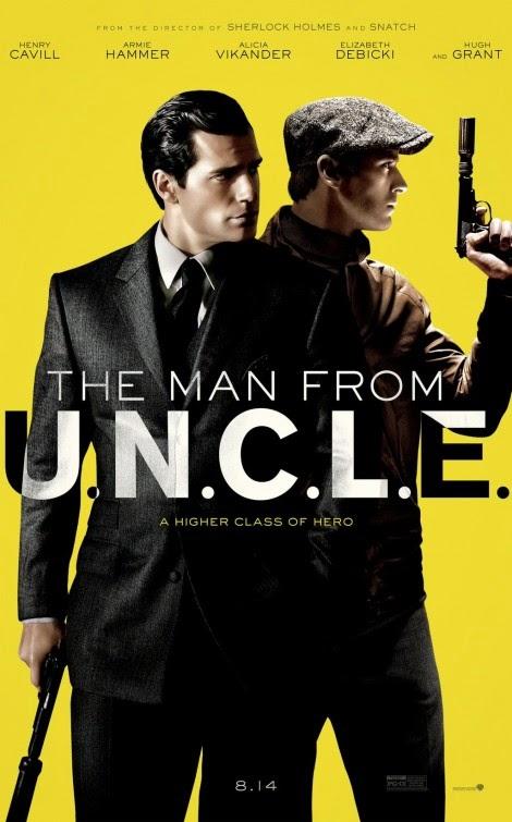 Póster y tráiler de la adaptación al cine de 'The man from U.N.C.L.E.'