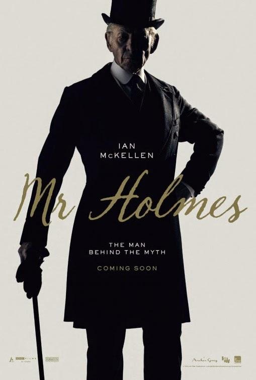 Primer póster y clip de 'Mr. Holmes' con Ian McKellen