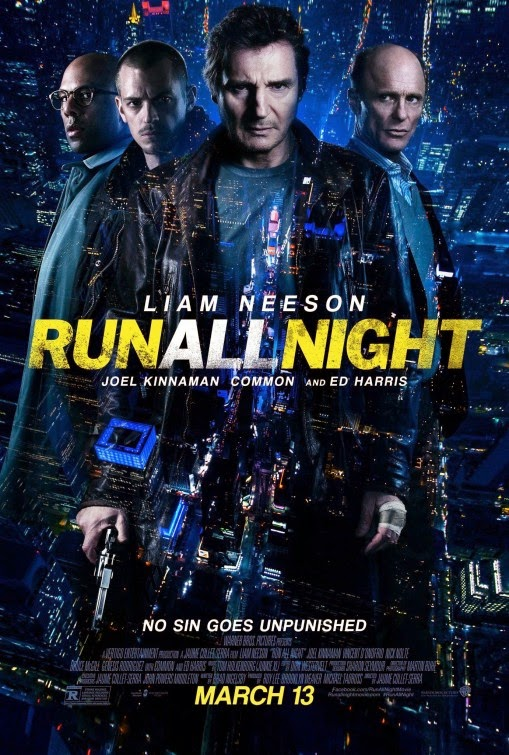 Póster de 'Run All Night' con Liam Neeson y Ed Harris