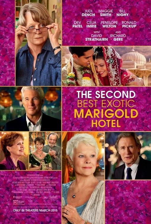 Tráiler final español y póster internacional de 'El nuevo exótico Hotel Marigold'
