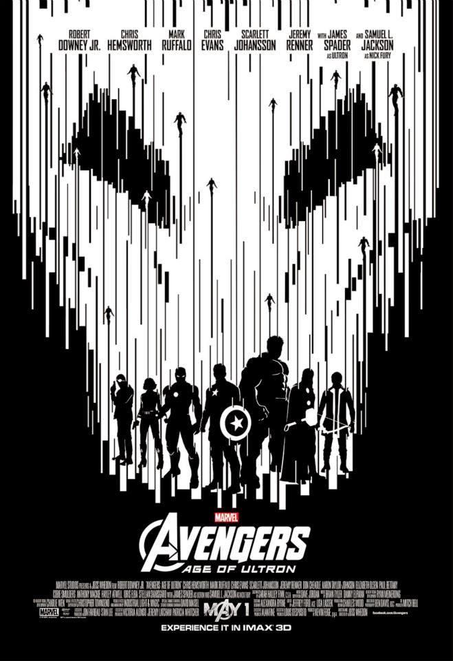Vota por tu póster preferido en IMAX de 'Vengadores: La era de Ultrón'