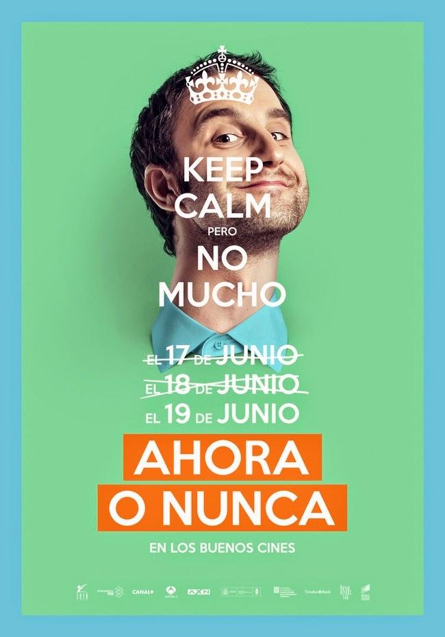 Primeros téaser pósters de 'Ahora o nunca' con Dani Rovira y María Valverde