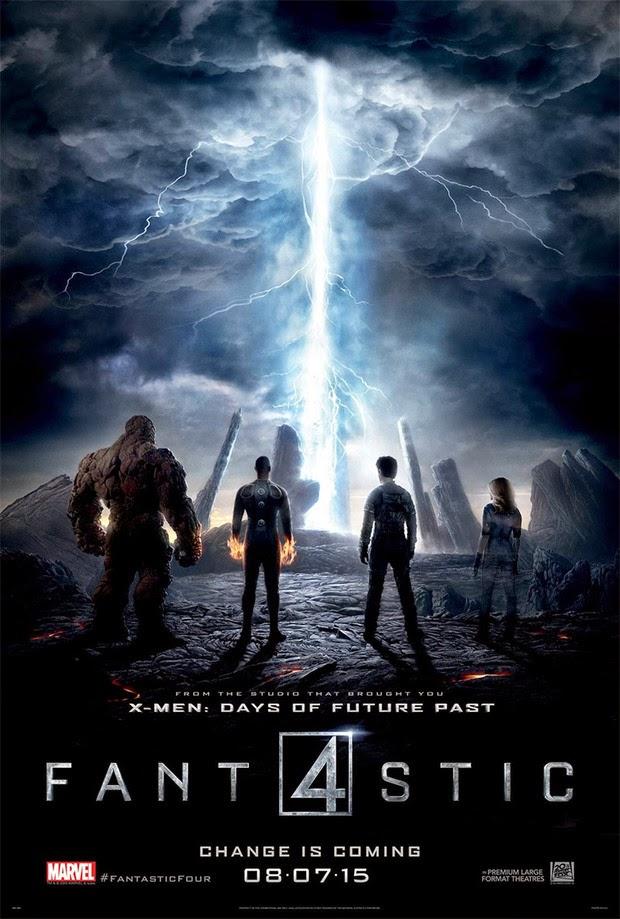 Nuevo póster de 'Cuatro fantásticos' con los protagonistas plantando cara al peligro
