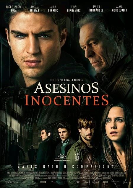 Póster oficial de 'Asesinos inocentes' que participará en el Festival de Málaga