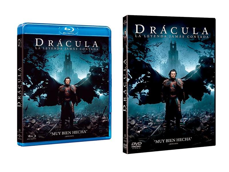 Lanzamiento en DVD y Blu-ray de 'Drácula: La leyenda jamás contada'