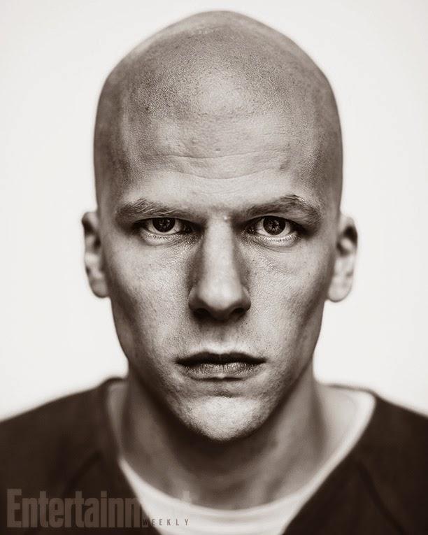 Primera imagen oficial de Jesse Eisenberg como Lex Luthor en 'Batman v Superman: Dawn of justice'