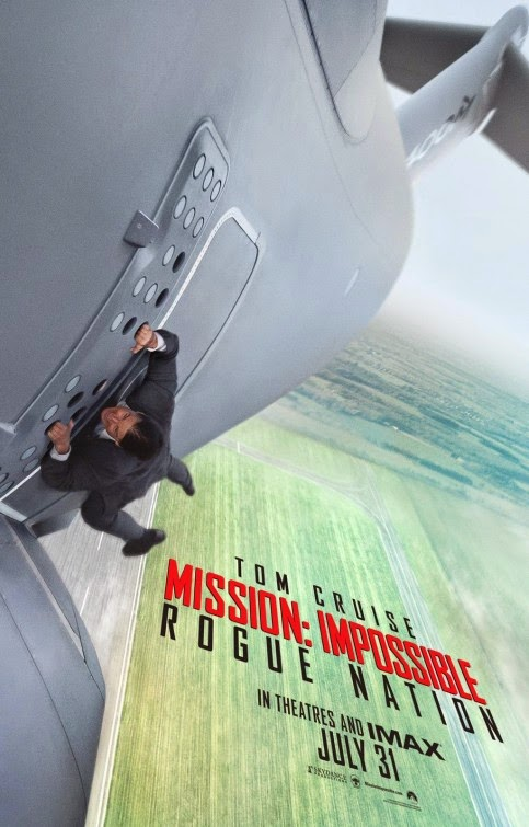 Revelado póster y téaser trailer de 'Mission: Impossible Rogue Nation'