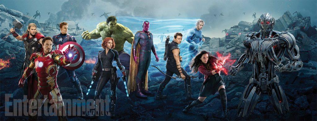 Nuevo y gigante banner de 'Vengadores: La era de Ultrón'