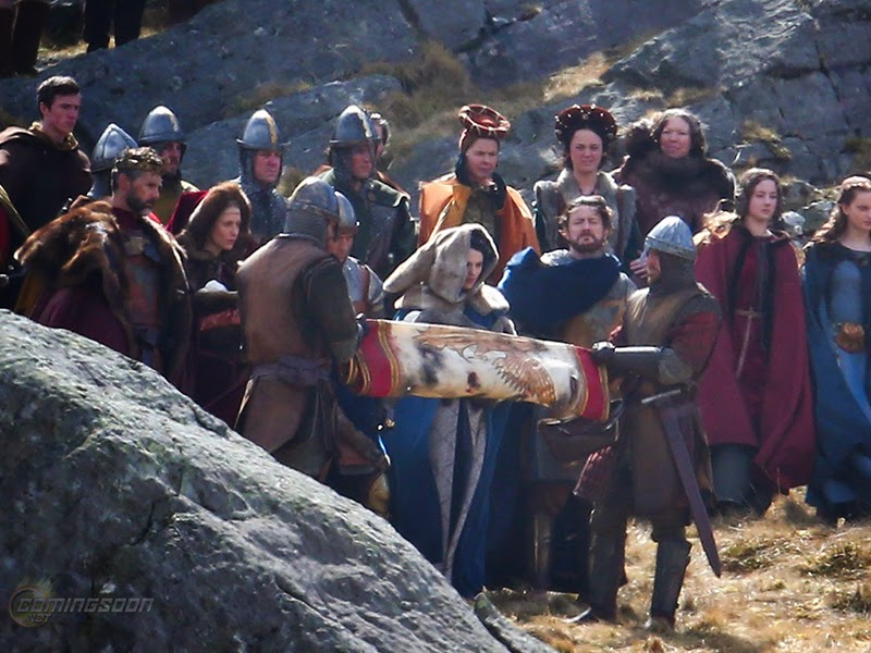 Primeras imágenes del rodaje de 'Kinghts of the round table'