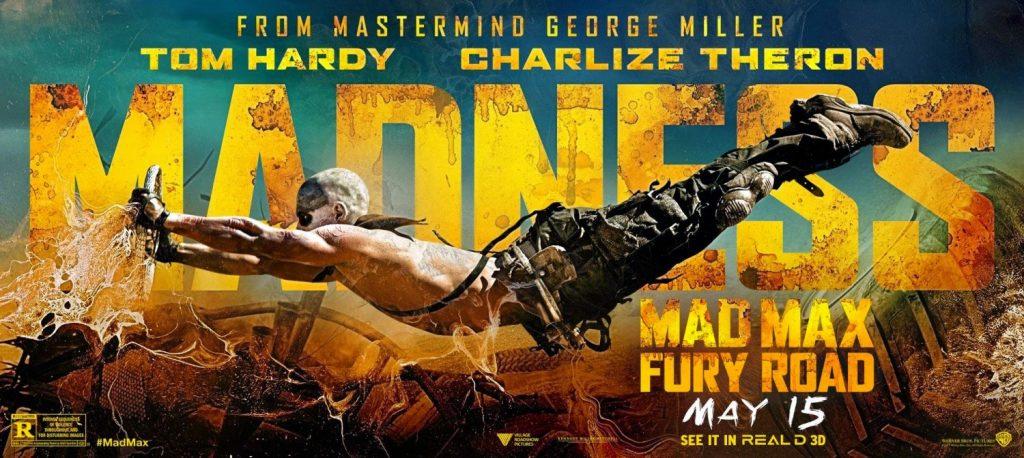 Nuevo y furioso póster de 'Mad Max: Furia en la carretera'