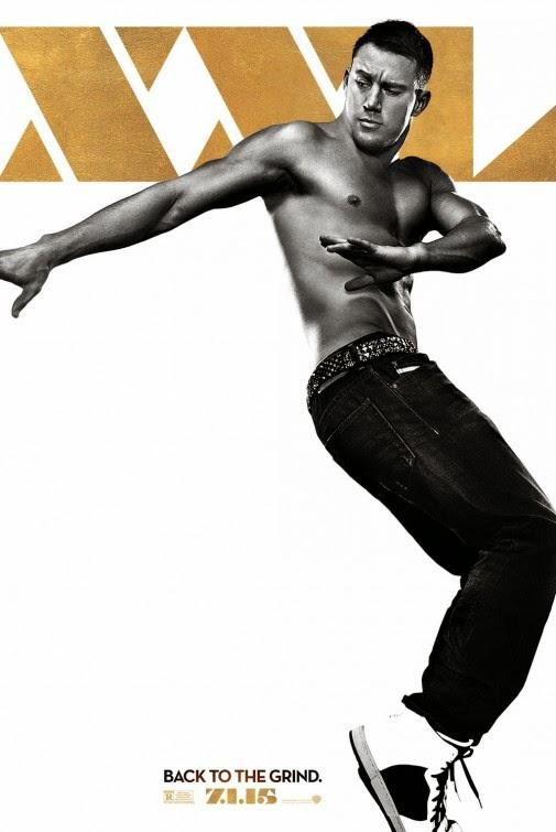 Channing Tatum luce torso en el nuevo póster de 'Magic Mike XXL'