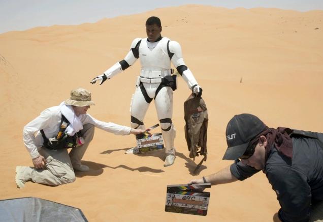 Imágenes del rodaje de 'Star Wars: El Despertar de la Fuerza'