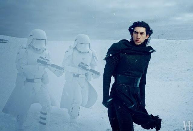 Imágenes del rodaje de Adam Driver, Lupita Nyong'o y Oscar Isaac en 'Star Wars: El despertar de la Fuerza'