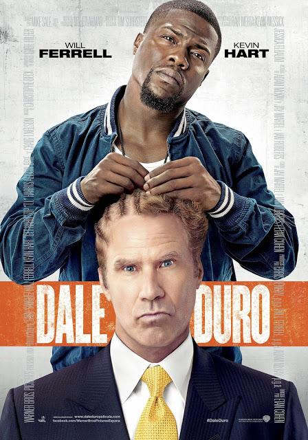 Tráiler español de la comedia 'Dale duro' con Will Ferrell y Kevin Hart