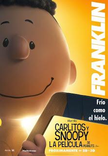 Doce pósters de personajes de 'Carlitos y Snoopy: La película de Peanuts'