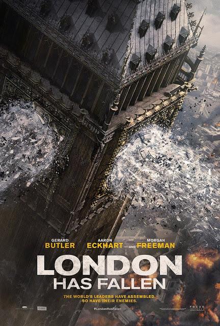 El Big Beng hecho pedazos en el póster de 'Objetivo: Londres'