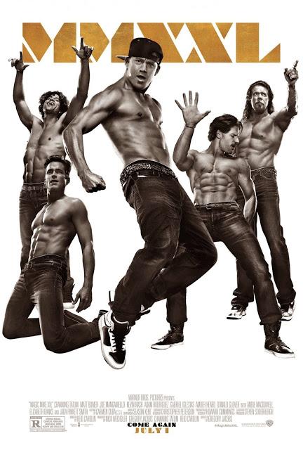 Channing Tatum y su grupo acaparan el nuevo póster de 'Magic Mike XXL'