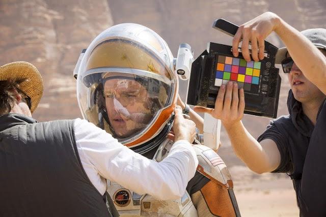 Primeras imágenes de 'The Martian' de Ridley Scott con Matt Damon