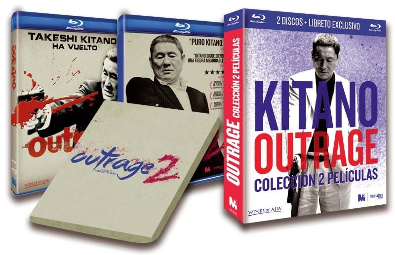 A la venta 'Outrage 2' en DVD, Blu-ray y pack