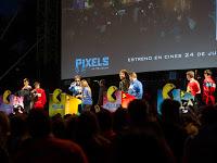 Evento de 'Pixels' por el 35 aniversario de Pac-man en Madrid