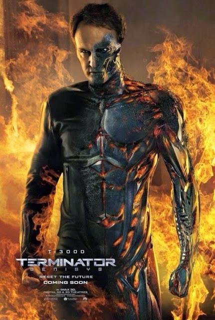 Remesa de pósters internacionales de 'Terminator: Génesis'