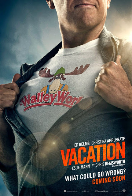 Rusty ya está preparado en el primer póster de 'Vacation'