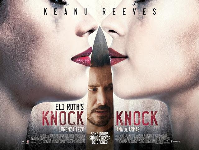 Primer póster de 'Knock Knock', la nueva película de Eli Roth