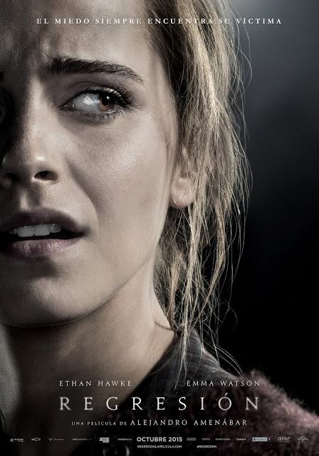 Tráiler oficial y pósters de Emma Watson y Ethan Hawke en 'Regresión'