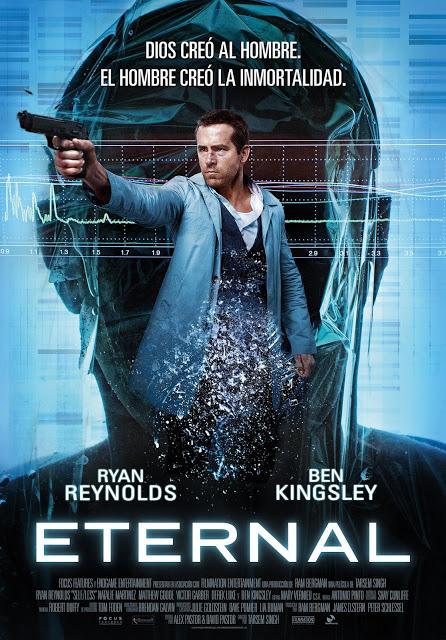 Póster final de 'Eternal', con Ryan Reynolds y Ben Kingsley