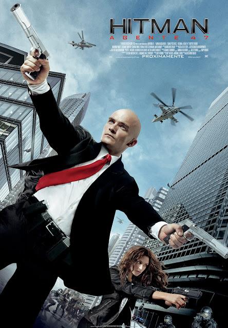 Póster definitivo y tráiler español de 'Hitman: Agente 47'