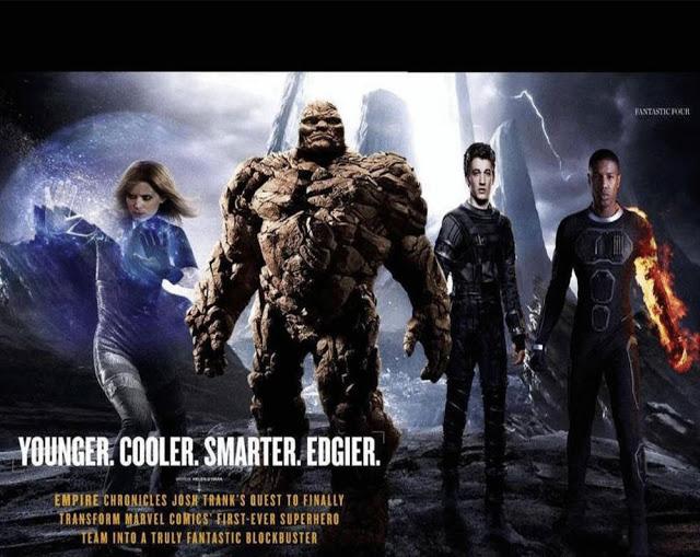 Nueva foto con los poderes de 'Cuatro Fantásticos'