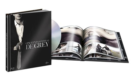 A la venta 'Cincuenta Sombras de Grey' en DVD, Blu-ray y Digibook