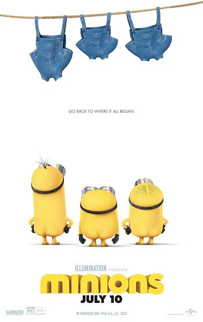 El nuevo póster de 'Los Minions' no deja nada a la imaginación