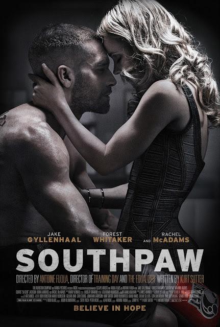 Segundo tráiler y nuevo póster de 'Southpaw' con Jake Gyllenhaal