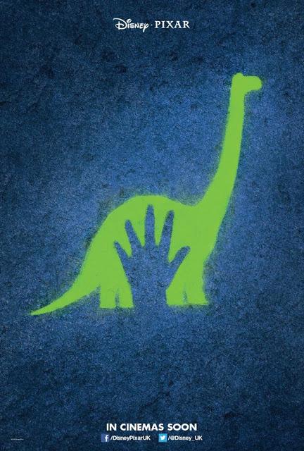 Téaser tráiler y póster de lo nuevo de Pixar 'The Good Dinosaur'