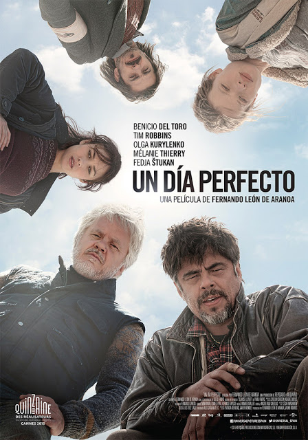 Póster y tráiler de 'Un día perfecto', de Fernando León de Aranoa