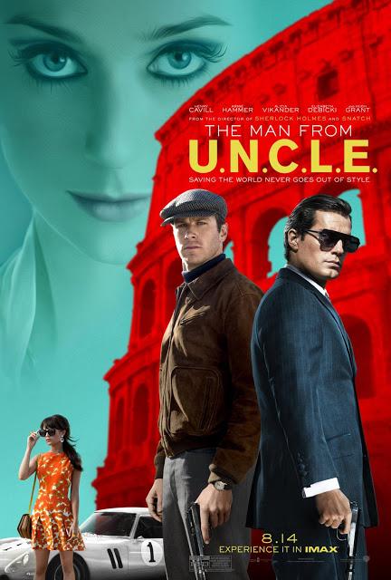 Nuevo póster internacional de 'Operación U.N.C.L.E.'
